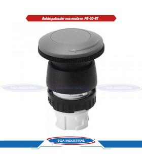 Boton Azul Operador Iluminado Rasante EATON M22DLB